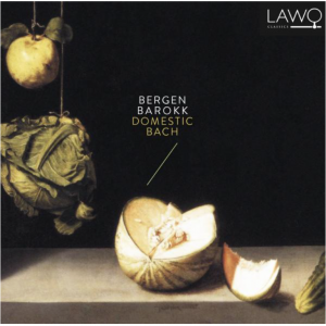 CD cover Domestic Bach