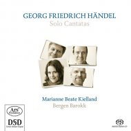 Handel CD solo cantatas cover