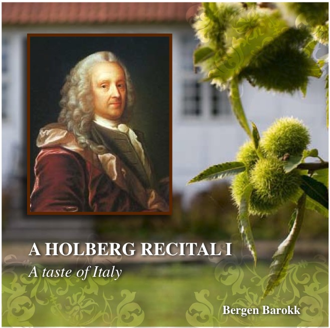 Holberg recital cover